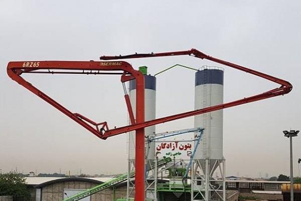 بتن آماده (تهران) بتن آزادگان جنوب