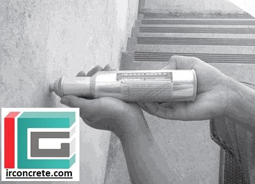 روش آزمایش چکش اشمیت-مقاومت درجا