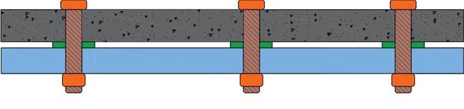 جزئیات اجرایی بتون اکسپوز به روش خشک