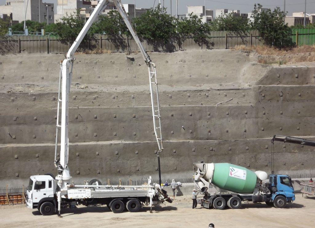 بتن آماده در تهران | قیمت بتن آماده | فروش بتن عیار 350