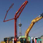 اجاره پمپ بتن دکل کوتاه، متوسط و بلند   دکل 65 متری   دکل 47 متری   پمپ ثابت   36 متری