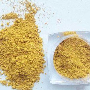 فروش رنگ رنگدانه سنگ مصنوعی بتن گل ماش زرد