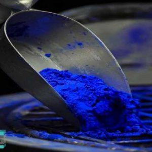 فروش رنگدانه سنگ مصنوعی بتن آبی