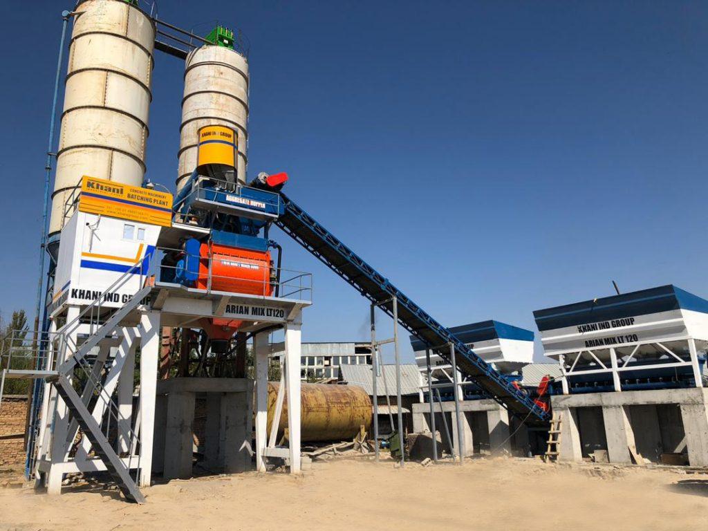 تولید کننده بچینگ پلانت (batching plant)